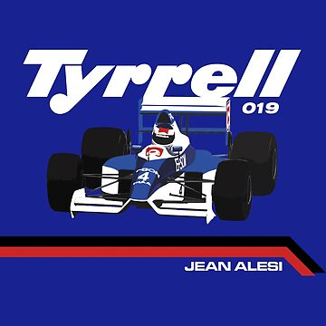 TYRRELL 019 - 1990 F1 SEASON - JEAN ALESI by SUNSET-STORE