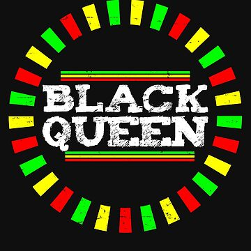 Black Queen AF Pride T shirt by 3familyllc