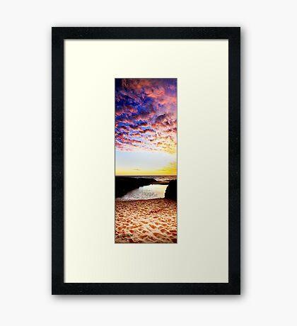 Rocky Point Framed Print