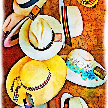 Panama Hats At San Blas by alabca