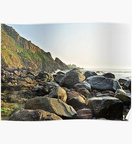 Alderney Coastline Poster
