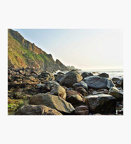 Alderney Coastline Photographic Print