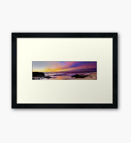 Painted Skys Framed Print