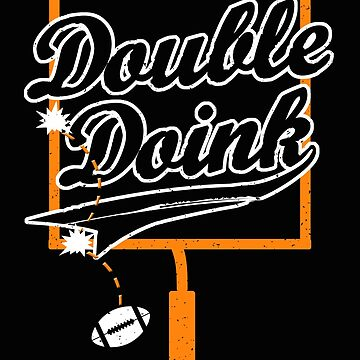 Funny Double Doink Game Shirt Gift for Football Fans by MrTStyle