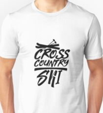 Cross-country skiing Cross-country skiing Winter sports Unisex T-Shirt