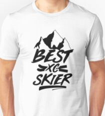 Best cross-country skier Unisex T-Shirt