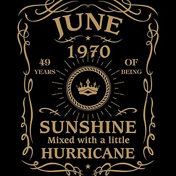 June 1970 Sunshine Mixed With A Little Hurricane by lavatarnt
