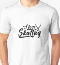 I love skating Unisex T-Shirt