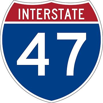Interstate Number 47 | Interstate Highway Forty seven by igorsin