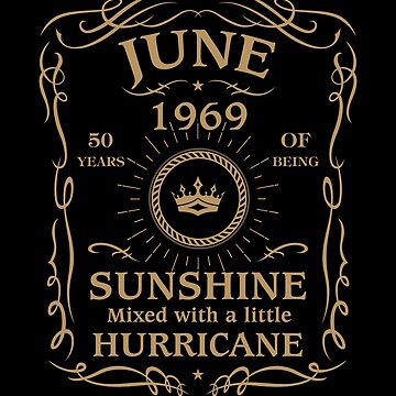 June 1969 Sunshine Mixed With A Little Hurricane by lavatarnt