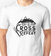 Cross country skier gift Unisex T-Shirt