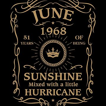 June 1968 Sunshine Mixed With A Little Hurricane by lavatarnt