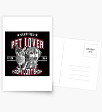 Adopt dont shop Katze Hund Tierschutz Postkarten