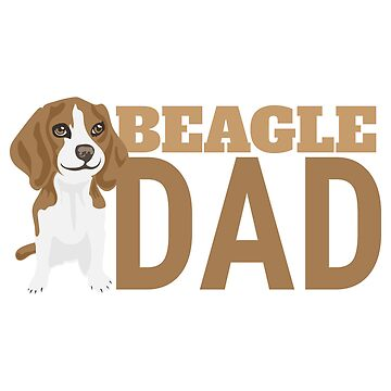 Beagle Dad Favorite Dogs - Gift Idea by vicoli-shirts