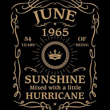 June 1965 Sunshine Mixed With A Little Hurricane by lavatarnt