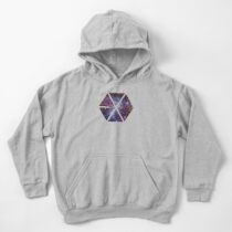 Exo-nebula Kids Pullover Hoodie
