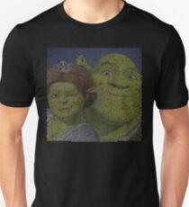 Shrek Forever After / Entire Script With Face Unisex T-Shirt