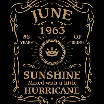 June 1963 Sunshine Mixed With A Little Hurricane by lavatarnt