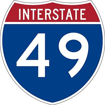 Interstate Number 49 | Interstate Highway Forty nine by igorsin