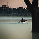 Heading Out,Going Fishing,Lake Fyans by Joe Mortelliti