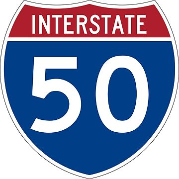 Interstate Number 50 | Interstate Highway Fifty by igorsin