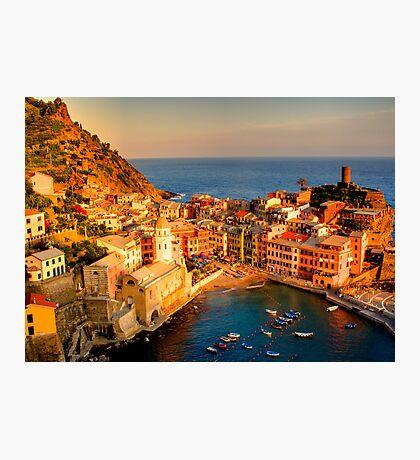 Vernazza, Cinque Terre Photographic Print