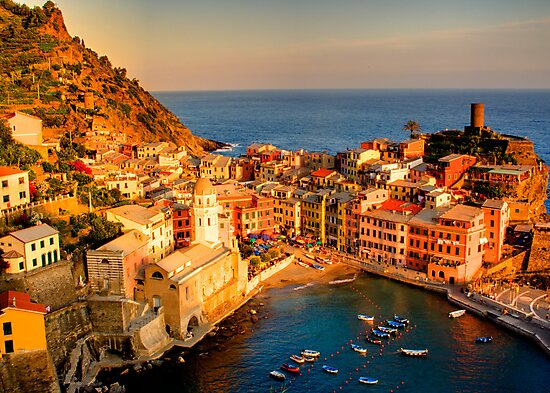 Vernazza, Cinque Terre by Paul Tait