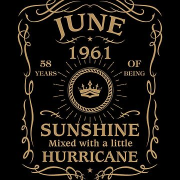 June 1961 Sunshine Mixed With A Little Hurricane by lavatarnt