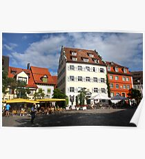 Summer Life at Meersburg Poster