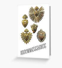 RECONNAISSANCE (gold) Greeting Card