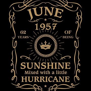 June 1957 Sunshine Mixed With A Little Hurricane by lavatarnt