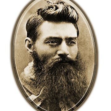 Ned Kelly the day before his execution by TOMSREDBUBBLE