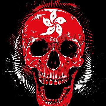 Hong Kong skull by GeschenkIdee