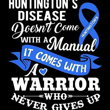 Huntington's Disease Awareness Gifts  by hustlagirl