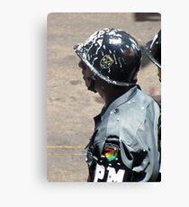 Oruro: La Policía Canvas Print