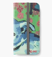 Blue Zoe iPhone Wallet/Case/Skin