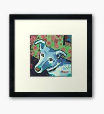Blue Zoe Framed Print