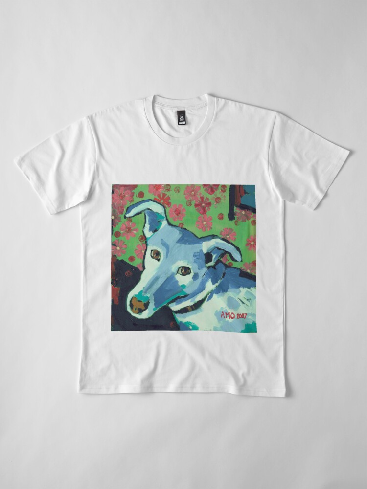 Alternate view of Blue Zoe Premium T-Shirt
