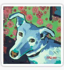 Blue Zoe Sticker