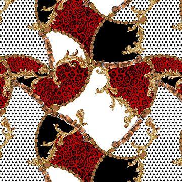 Leopard Skin and Belt-Chains by eduardodoreni