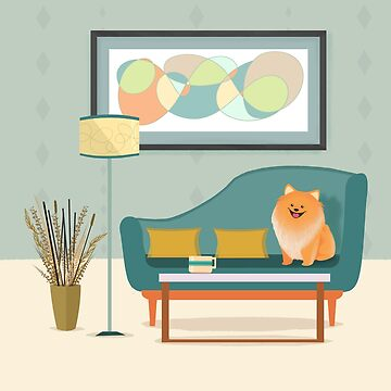 A Pomeranian Makes A House A Home by BunnyThePainter