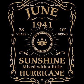 June 1941 Sunshine Mixed With A Little Hurricane by lavatarnt