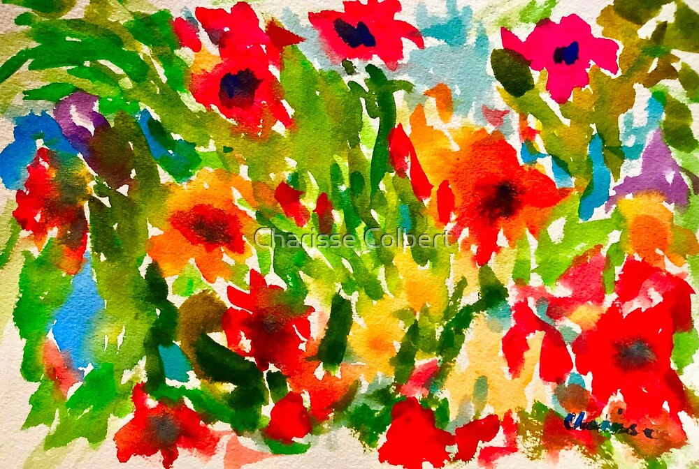 Flower Pop by Charisse Colbert