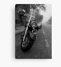 Motorbike Canvas Print