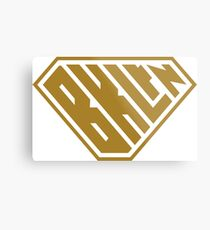 Brooklyn SuperEmpowered (Gold) Metal Print