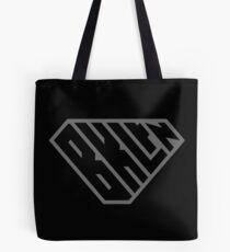 Brooklyn SuperEmpowered (Black on Black) Tote Bag