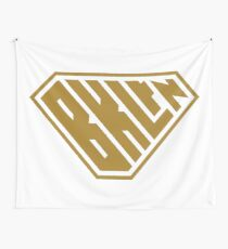 Brooklyn SuperEmpowered (Gold) Wall Tapestry