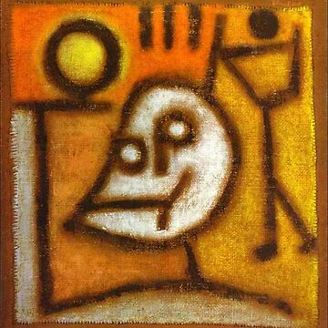 Paul Klee, Death and Fire by TOMSREDBUBBLE