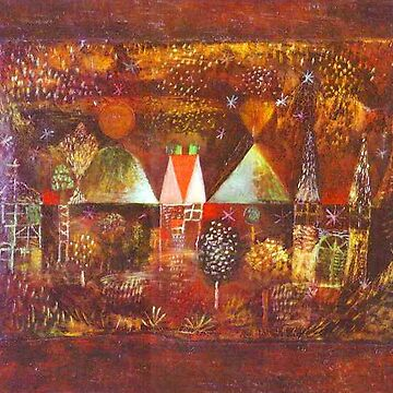 Paul Klee. Nocturnal Festivity by TOMSREDBUBBLE