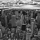 NYC in black and white by Andrea Rapisarda